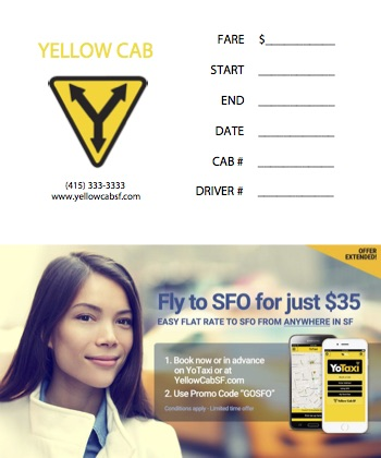 Landlord Receipt For Rent Yellow Cab Of San Francisco  More Taxis Means Well Get One To  Book Of Receipts Pdf with Draft Invoice Pdf Here Is A Receipt You Can Print And Fill Out Yourself Receipt Bill Of Sale Excel